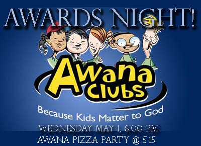 AWANA AWARDS!