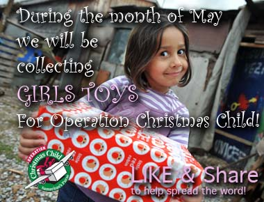 A box will be in the foyer for all OCC donations